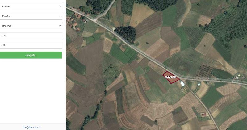 Emlakyapıdan Kandıra sarıcaali yola sıfır gölet manzaralı arsa