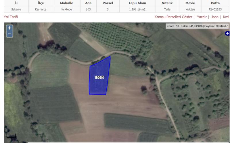 Kaçmaz'dan Kaynarca Kırktepe'de kaçırılmayacak satılık arazi