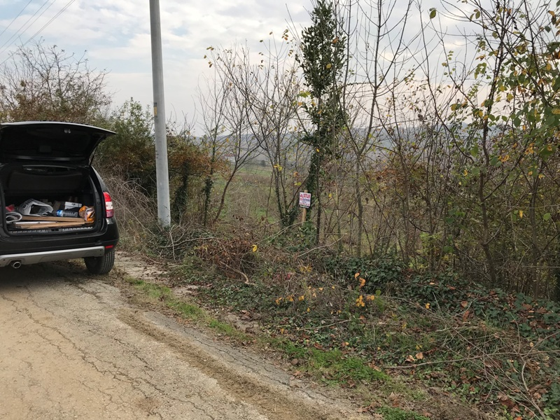 Kandıra Çakırcaali de yola sıfır satılık arsa bahçe